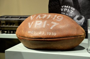 An old VMI football.