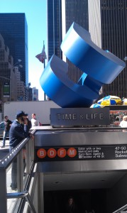 Time-Life subway stop